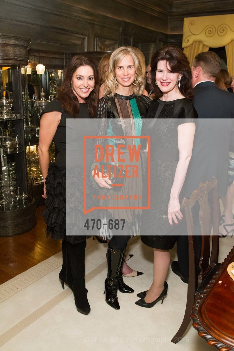 Marybeth Lamotte, Hannah Kavoly, Elaine Mellis, Benefactor Party for the 2016 Ballet Gala, Private Residence, January 14th, 2016,Drew Altizer, Drew Altizer Photography, full-service agency, private events, San Francisco photographer, photographer california