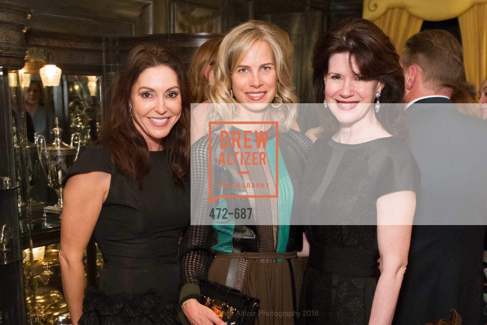 Marybeth Lamotte, Hannah Kavoly, Elaine Mellis, Benefactor Party for the 2016 Ballet Gala, Private Residence, January 14th, 2016,Drew Altizer, Drew Altizer Photography, full-service event agency, private events, San Francisco photographer, photographer California