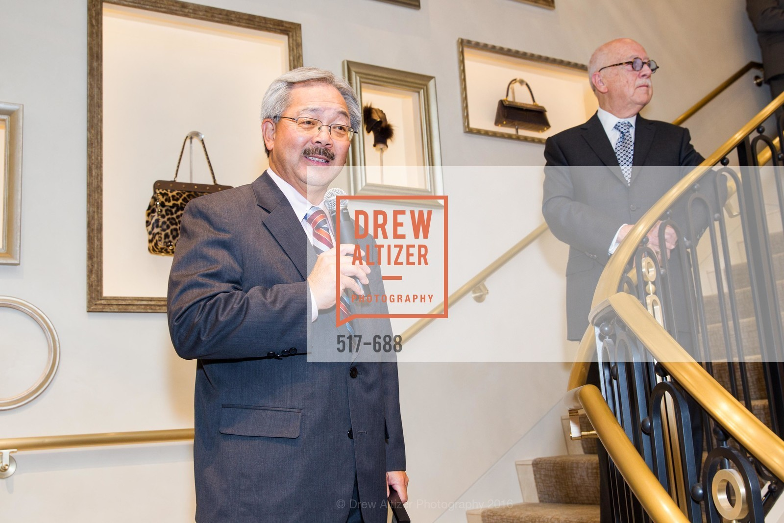 Mayor Ed Lee, Wilkes Bashford, Wilkes Bashford, In Memoriam 1933-2016, San Francisco, January 16th, 2016,Drew Altizer, Drew Altizer Photography, full-service agency, private events, San Francisco photographer, photographer california