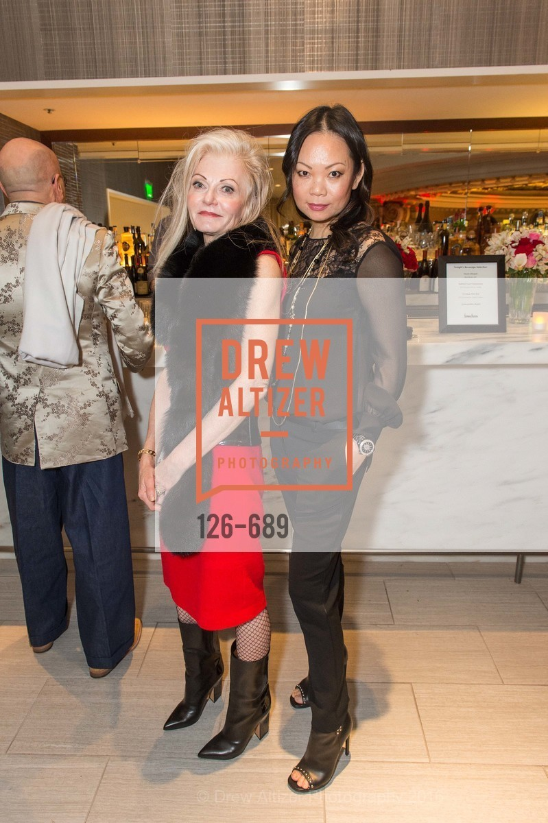 Diane Carlson, Genie Huang, Oscar de la Renta Cocktail Party with Boaz Mazor, The Rotunda Restaurant, January 19th, 2016,Drew Altizer, Drew Altizer Photography, full-service agency, private events, San Francisco photographer, photographer california