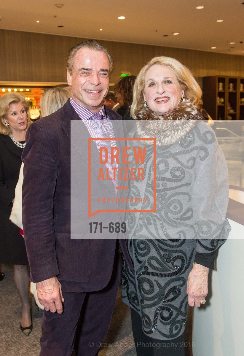 Boaz Mazor, Sally Debenham, Oscar de la Renta Cocktail Party with Boaz Mazor, The Rotunda Restaurant, January 19th, 2016,Drew Altizer, Drew Altizer Photography, full-service agency, private events, San Francisco photographer, photographer california