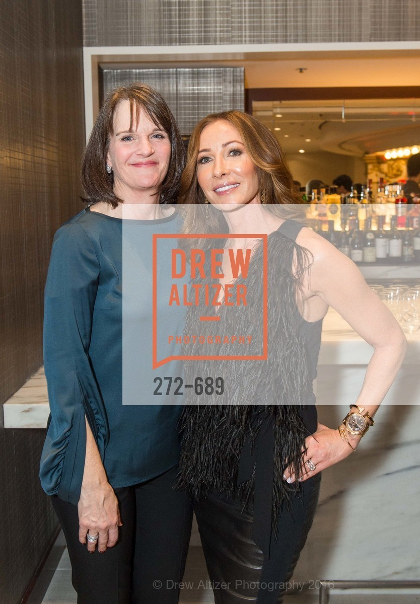Sheila Peace, Tracey Cook, Oscar de la Renta Cocktail Party with Boaz Mazor, The Rotunda Restaurant, January 19th, 2016,Drew Altizer, Drew Altizer Photography, full-service agency, private events, San Francisco photographer, photographer california