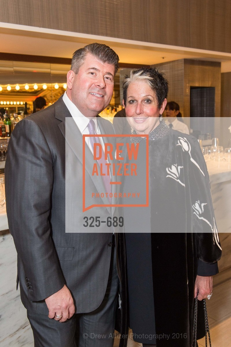 Alan Morrell, Karen Kubin, Oscar de la Renta Cocktail Party with Boaz Mazor, The Rotunda Restaurant, January 19th, 2016,Drew Altizer, Drew Altizer Photography, full-service agency, private events, San Francisco photographer, photographer california