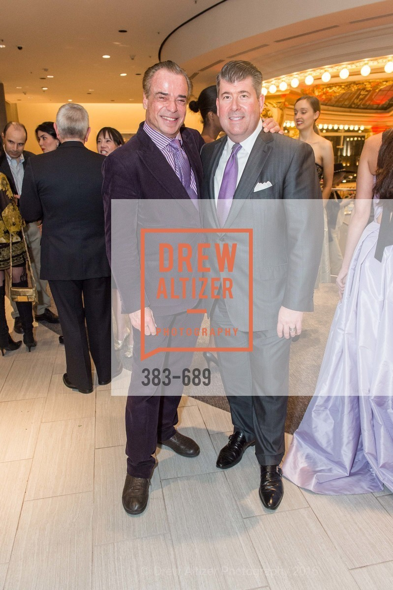 Boaz Mazor, Alan Morrell, Oscar de la Renta Cocktail Party with Boaz Mazor, The Rotunda Restaurant, January 19th, 2016,Drew Altizer, Drew Altizer Photography, full-service agency, private events, San Francisco photographer, photographer california