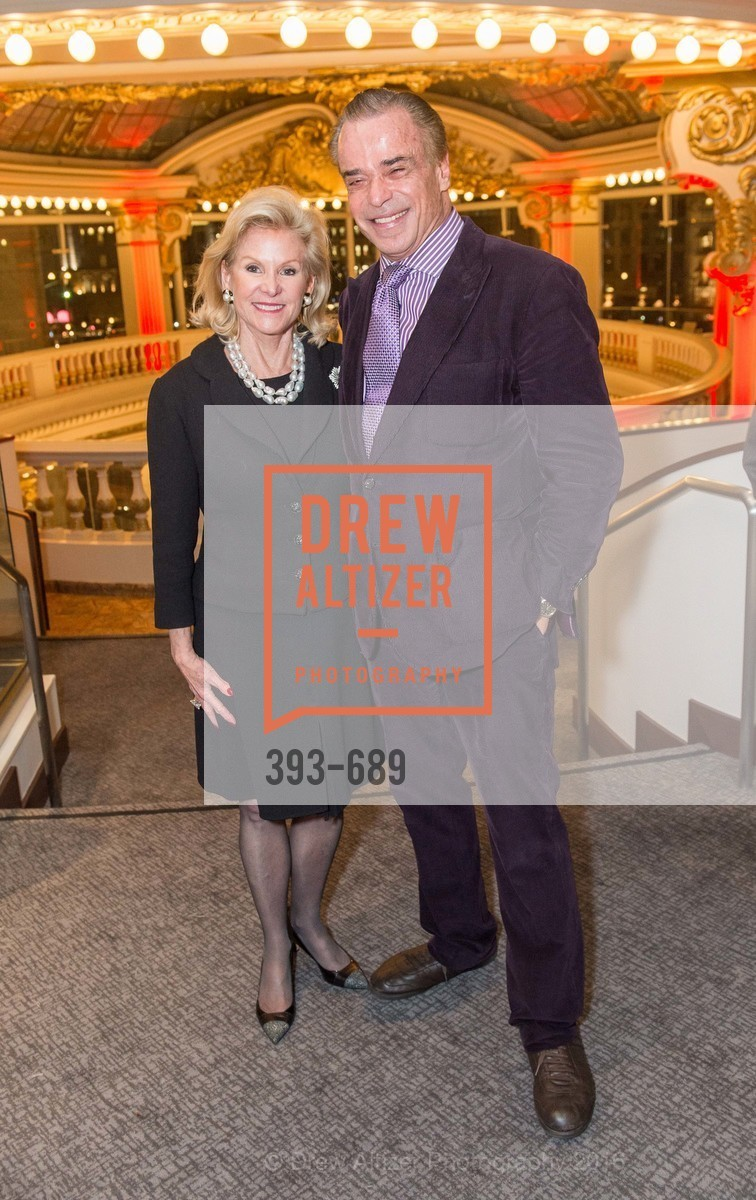 Dede Wilsey, Boaz Mazor, Oscar de la Renta Cocktail Party with Boaz Mazor, The Rotunda Restaurant, January 19th, 2016,Drew Altizer, Drew Altizer Photography, full-service agency, private events, San Francisco photographer, photographer california