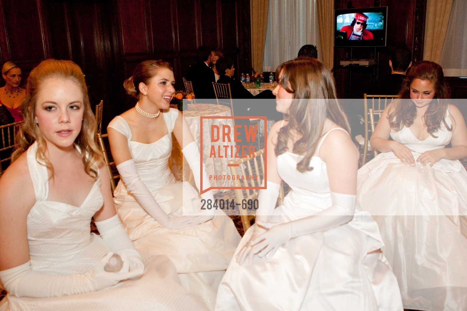 Elizabeth Hullar, Grace Schlesinger, Victoria Hetz, Taylor Roy, 2009 Debutante Ball, Unknown, July 4th, 2008,Drew Altizer, Drew Altizer Photography, full-service agency, private events, San Francisco photographer, photographer california