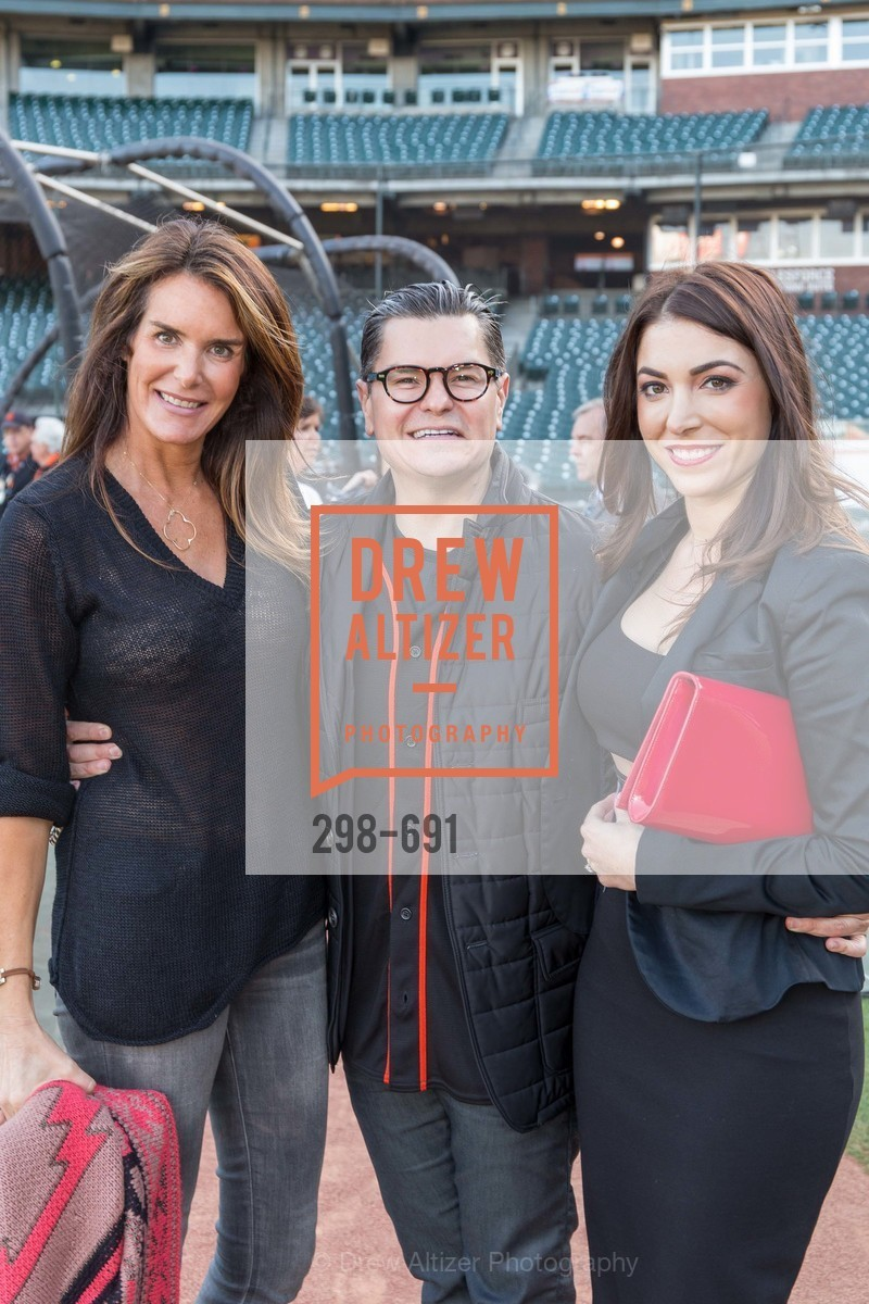 Jennifer Bronson, Christopher Meza, Daniella, ST. FRANCIS FOUNDATION'S Knock It Out of the Park, US. AT&T Park, June 4th, 2015,Drew Altizer, Drew Altizer Photography, full-service agency, private events, San Francisco photographer, photographer california