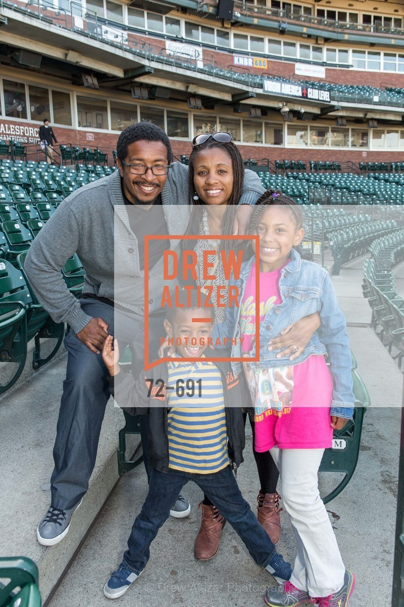 Darrell Guidrey, Rena Guidrey, Solomon Guidrey, Kaylen Guidrey, ST. FRANCIS FOUNDATION'S Knock It Out of the Park, US. AT&T Park, June 4th, 2015,Drew Altizer, Drew Altizer Photography, full-service agency, private events, San Francisco photographer, photographer california