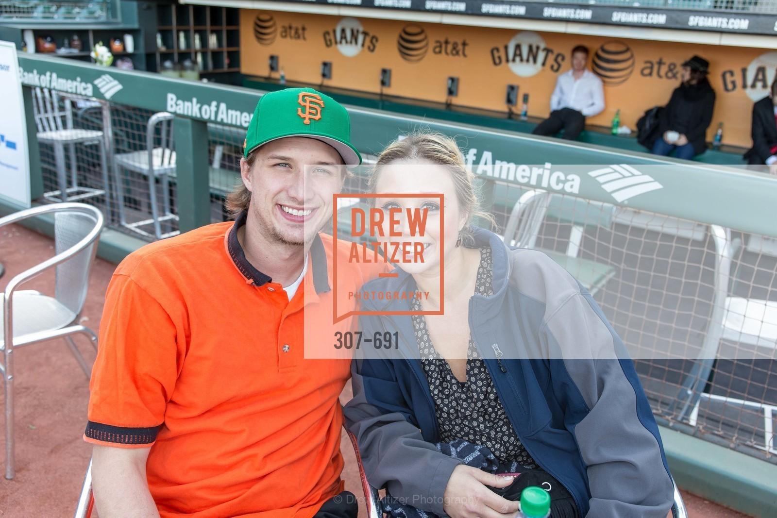 Christian Tharin, Coral Ruda, ST. FRANCIS FOUNDATION'S Knock It Out of the Park, US. AT&T Park, June 4th, 2015,Drew Altizer, Drew Altizer Photography, full-service agency, private events, San Francisco photographer, photographer california