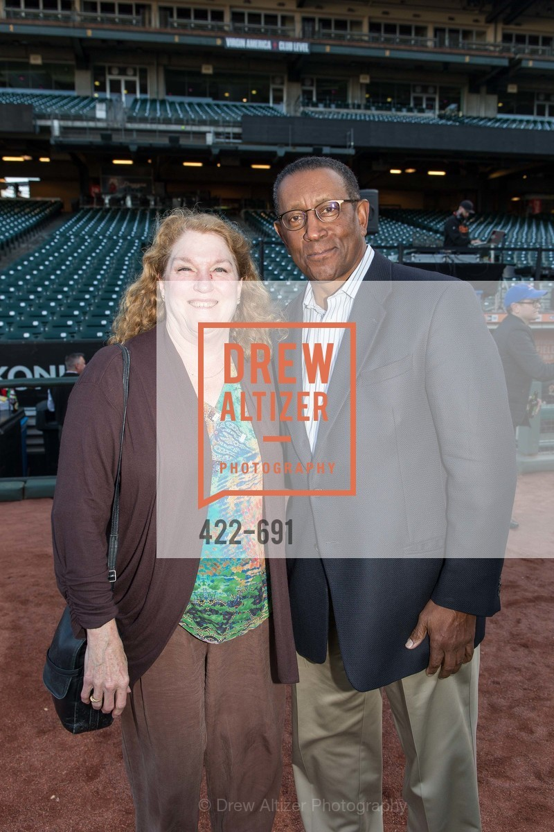 Michaela Cassidy, Bill Harris, ST. FRANCIS FOUNDATION'S Knock It Out of the Park, US. AT&T Park, June 4th, 2015,Drew Altizer, Drew Altizer Photography, full-service agency, private events, San Francisco photographer, photographer california