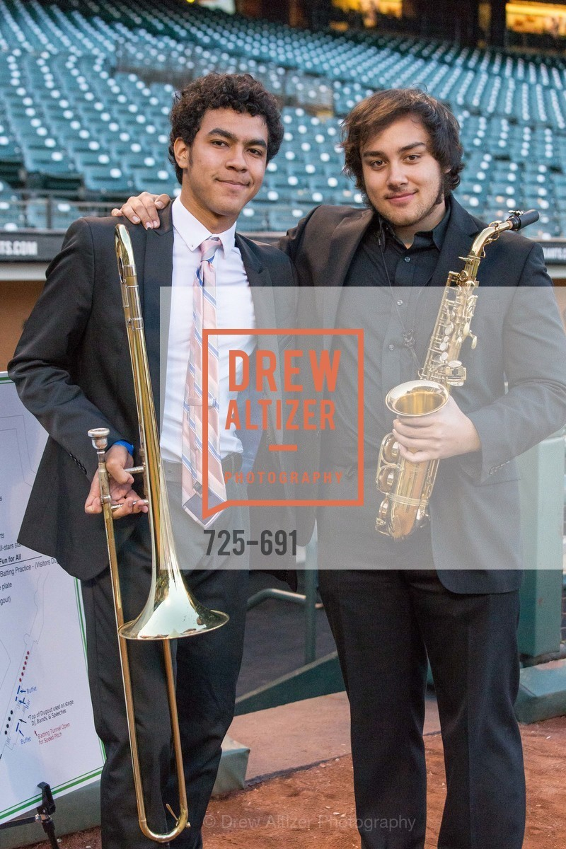 SF Jazz High School All Star Band, ST. FRANCIS FOUNDATION'S Knock It Out of the Park, US. AT&T Park, June 4th, 2015,Drew Altizer, Drew Altizer Photography, full-service agency, private events, San Francisco photographer, photographer california