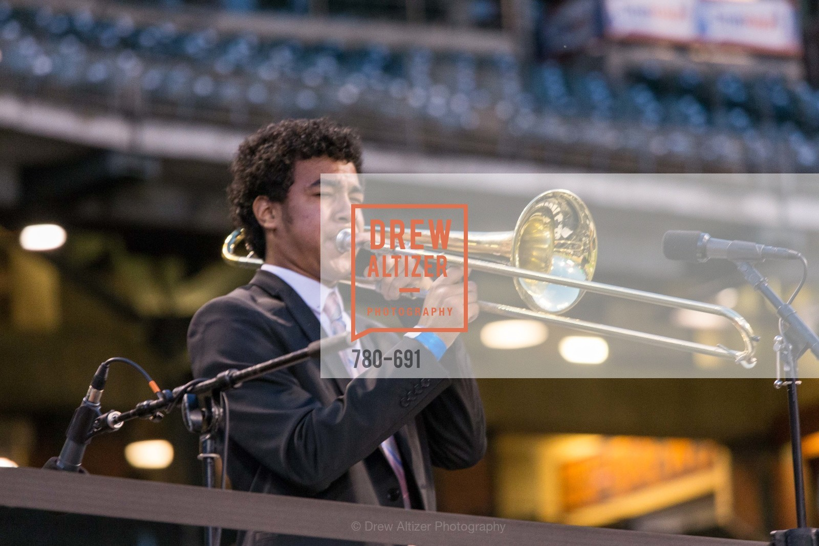 Performance By SF Jazz All Start High School Band, ST. FRANCIS FOUNDATION'S Knock It Out of the Park, US. AT&T Park, June 4th, 2015,Drew Altizer, Drew Altizer Photography, full-service agency, private events, San Francisco photographer, photographer california