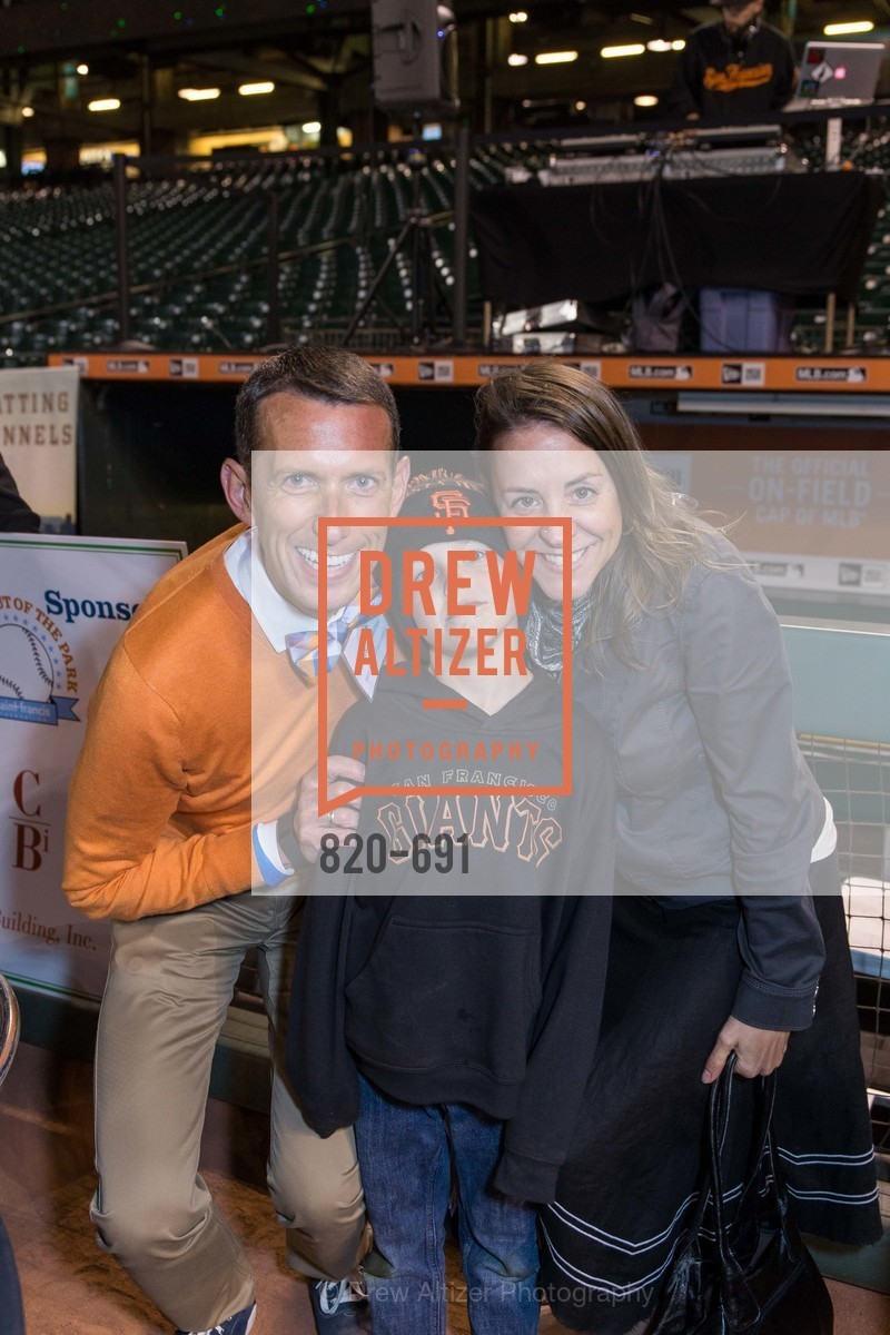 Markham Miller, Griffin Smith, Erin Reeser, ST. FRANCIS FOUNDATION'S Knock It Out of the Park, US. AT&T Park, June 4th, 2015,Drew Altizer, Drew Altizer Photography, full-service agency, private events, San Francisco photographer, photographer california