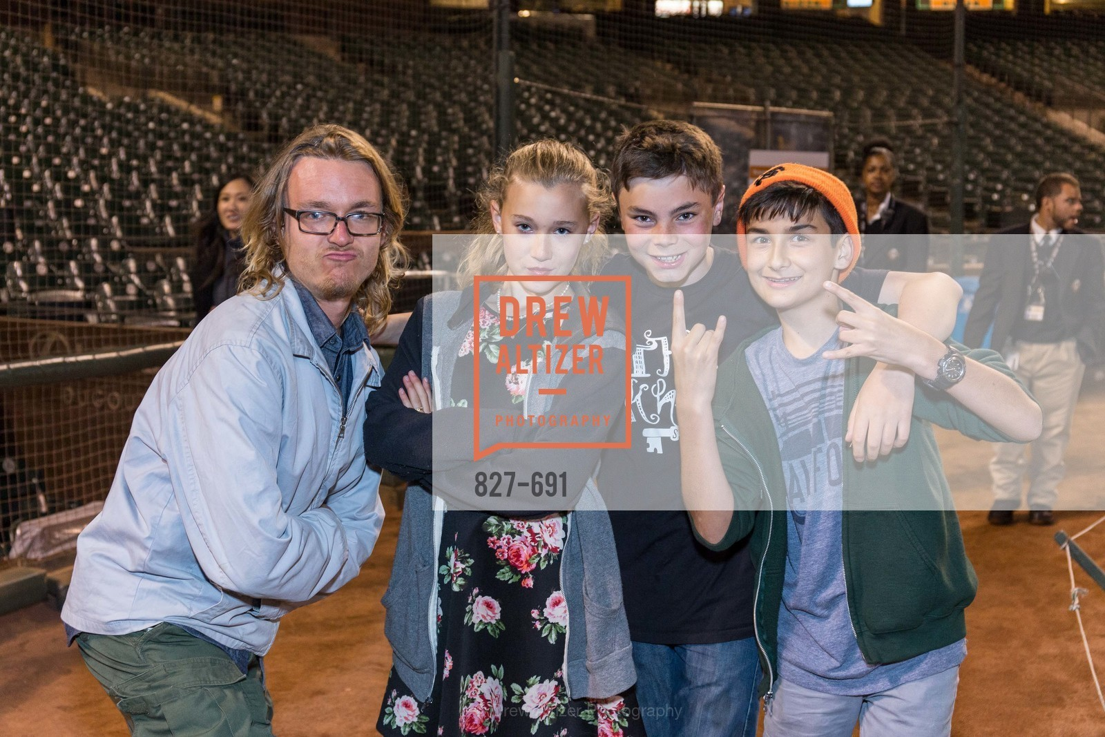 Kai Lyons, Angelina O'Connor, Rob Jackson, Erik Dietch, ST. FRANCIS FOUNDATION'S Knock It Out of the Park, US. AT&T Park, June 4th, 2015,Drew Altizer, Drew Altizer Photography, full-service agency, private events, San Francisco photographer, photographer california