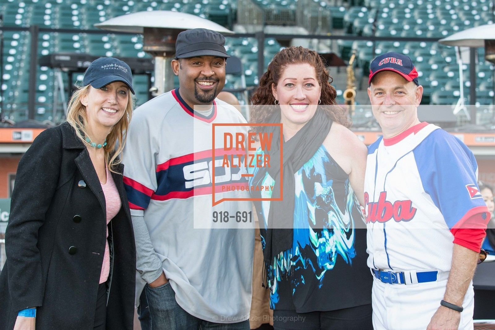 Colleen McGuinn, Lee Moore, Ann Marie, Kevin Causey, ST. FRANCIS FOUNDATION'S Knock It Out of the Park, US. AT&T Park, June 4th, 2015,Drew Altizer, Drew Altizer Photography, full-service agency, private events, San Francisco photographer, photographer california