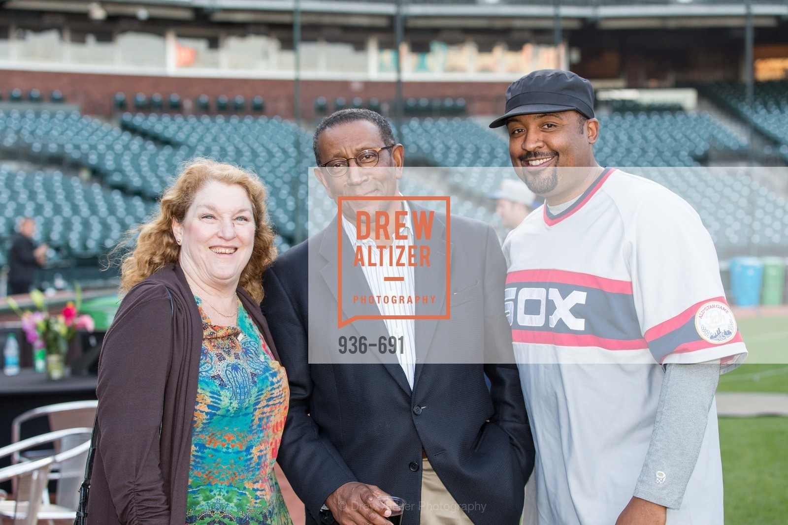 Michaela Cassidy, Bill Harris, Lee Moore, ST. FRANCIS FOUNDATION'S Knock It Out of the Park, US. AT&T Park, June 4th, 2015,Drew Altizer, Drew Altizer Photography, full-service agency, private events, San Francisco photographer, photographer california