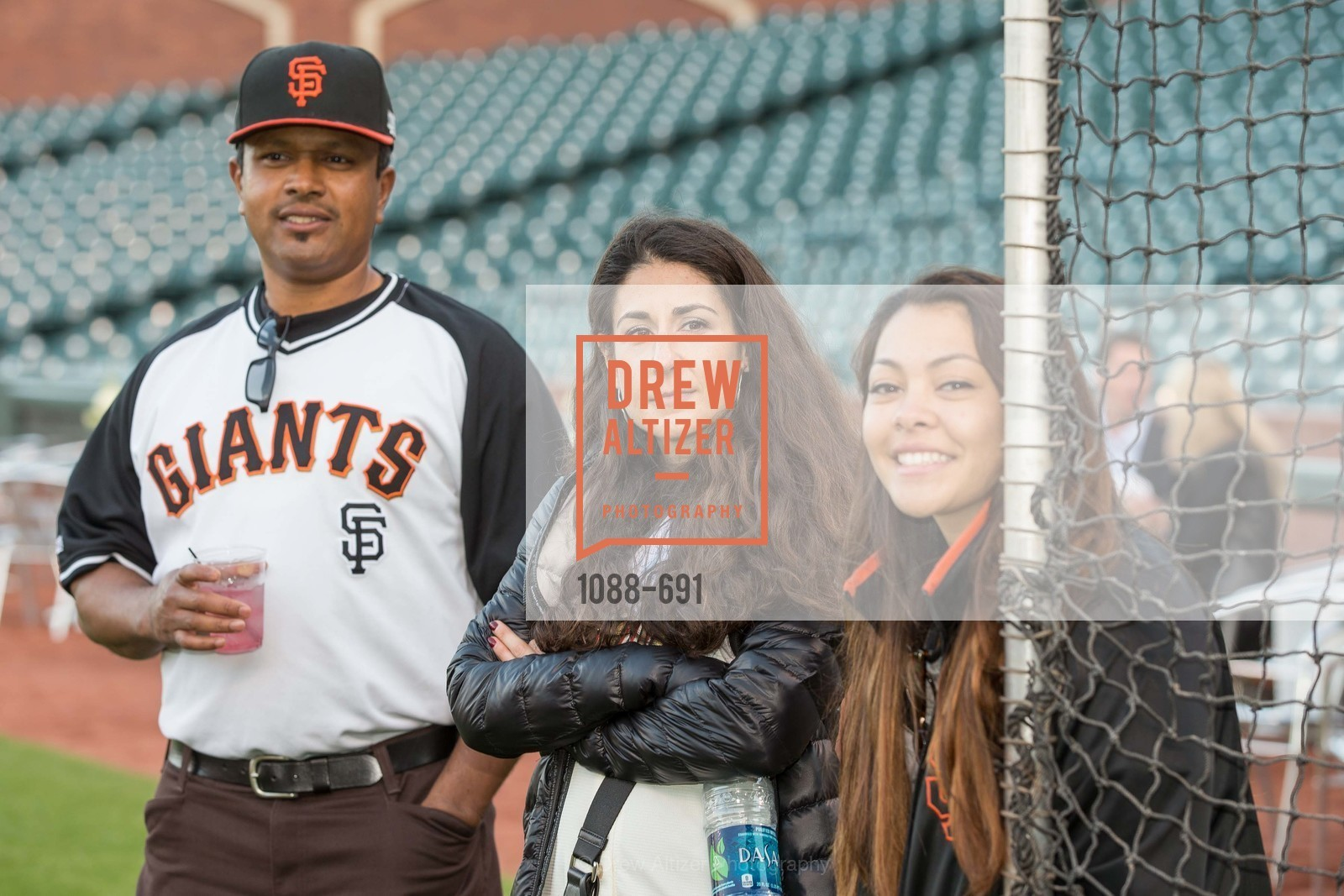 Ivan Hunter, Nili Poynter, Starr Hunter, Alia Lucero, ST. FRANCIS FOUNDATION'S Knock It Out of the Park, US. AT&T Park, June 4th, 2015,Drew Altizer, Drew Altizer Photography, full-service agency, private events, San Francisco photographer, photographer california