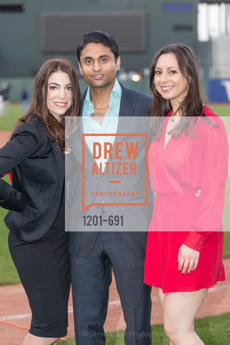 Daniella Vallurupalli, Aneal Vallurupalli, Nicole Qaquandah, ST. FRANCIS FOUNDATION'S Knock It Out of the Park, US. AT&T Park, June 4th, 2015,Drew Altizer, Drew Altizer Photography, full-service agency, private events, San Francisco photographer, photographer california