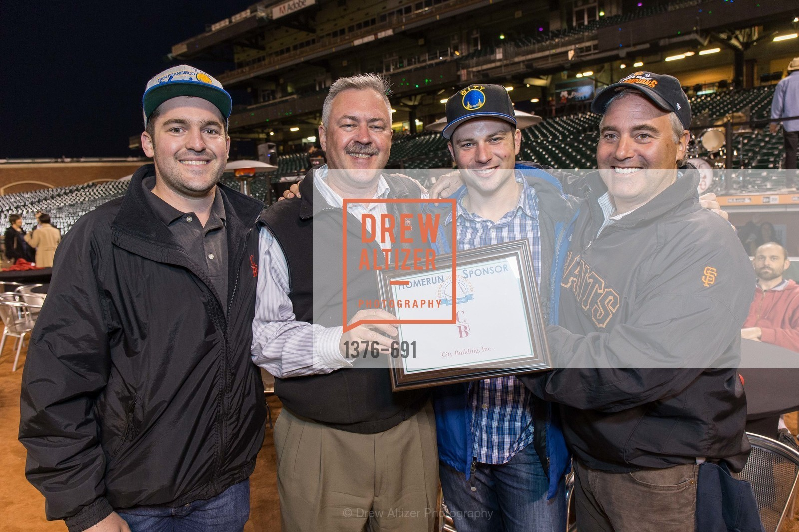 Vince Baldwin, Scott Hagberg, Cody Beratlis, Dan Amigone, ST. FRANCIS FOUNDATION'S Knock It Out of the Park, US. AT&T Park, June 4th, 2015,Drew Altizer, Drew Altizer Photography, full-service agency, private events, San Francisco photographer, photographer california