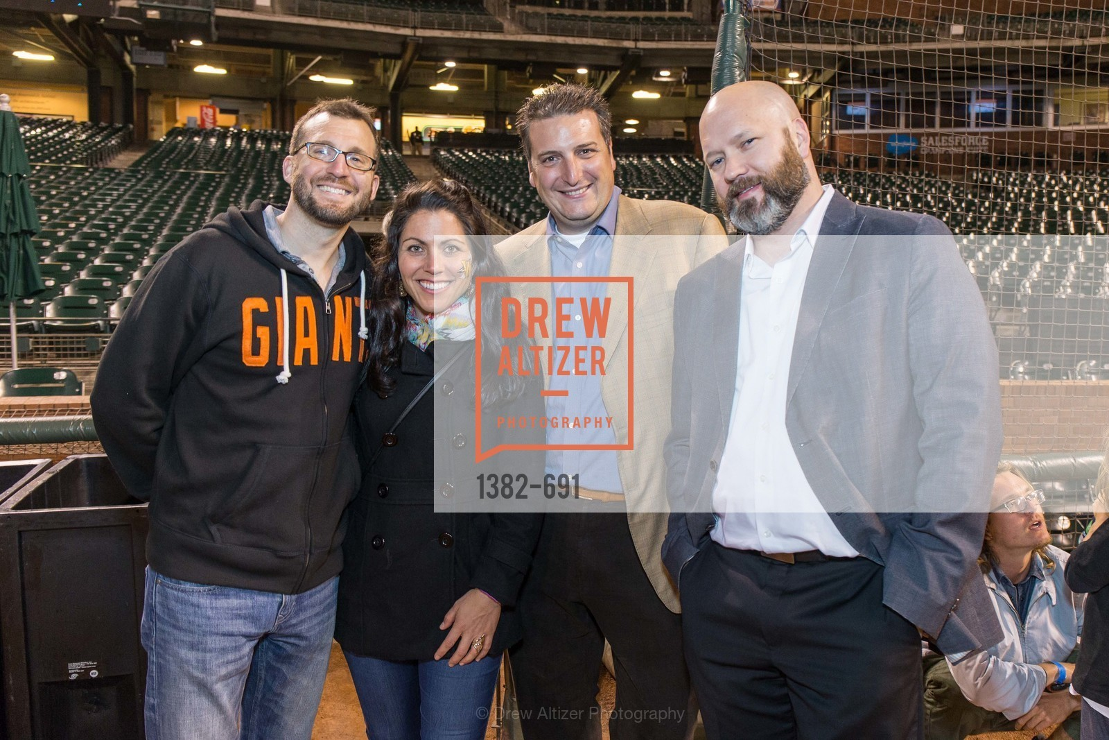 Brian Bataille, Heather Munden, Guido Lanza, Brandon Allgood, ST. FRANCIS FOUNDATION'S Knock It Out of the Park, US. AT&T Park, June 4th, 2015,Drew Altizer, Drew Altizer Photography, full-service agency, private events, San Francisco photographer, photographer california
