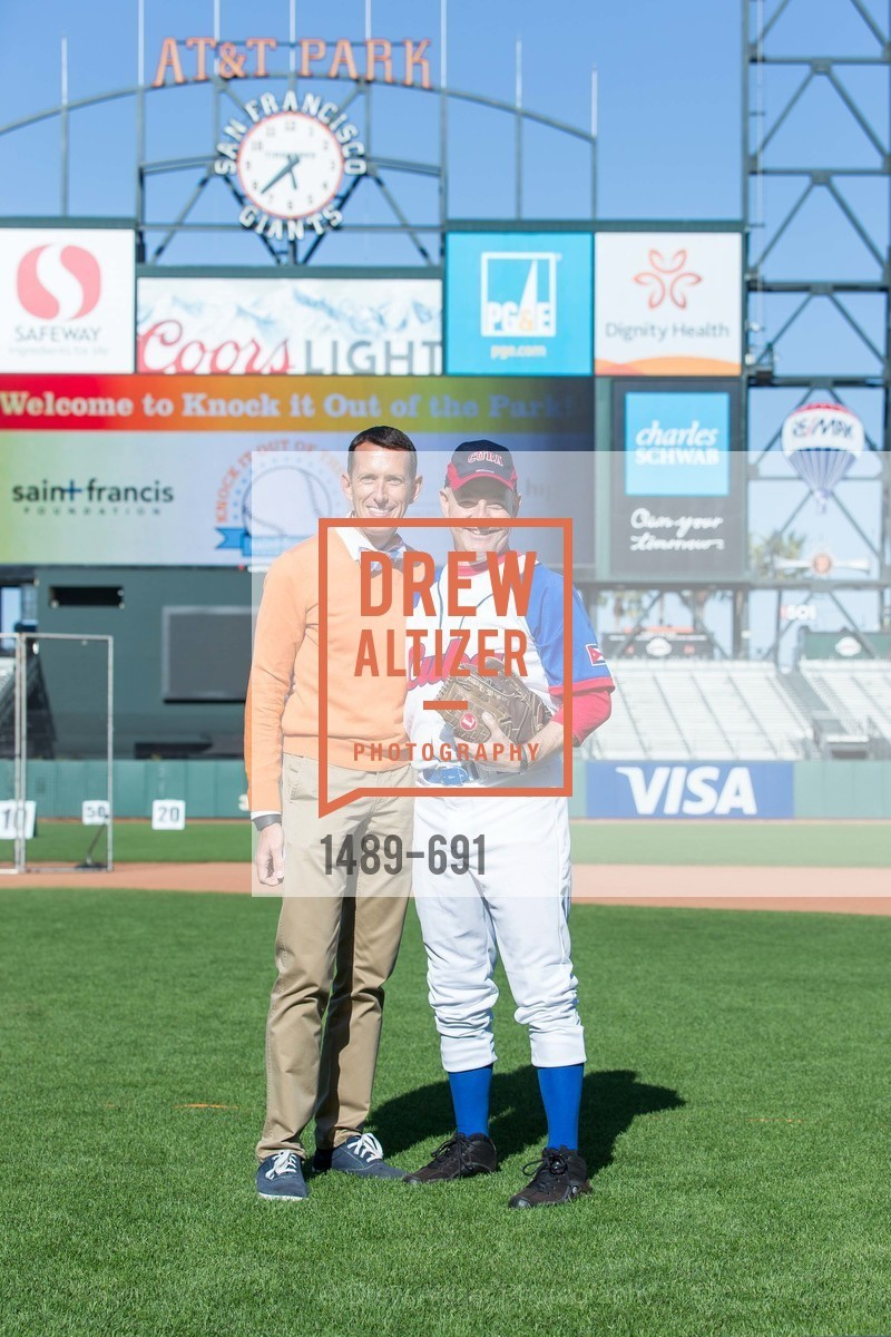 Markham Miller, Kevin Causey, ST. FRANCIS FOUNDATION'S Knock It Out of the Park, US. AT&T Park, June 4th, 2015,Drew Altizer, Drew Altizer Photography, full-service agency, private events, San Francisco photographer, photographer california