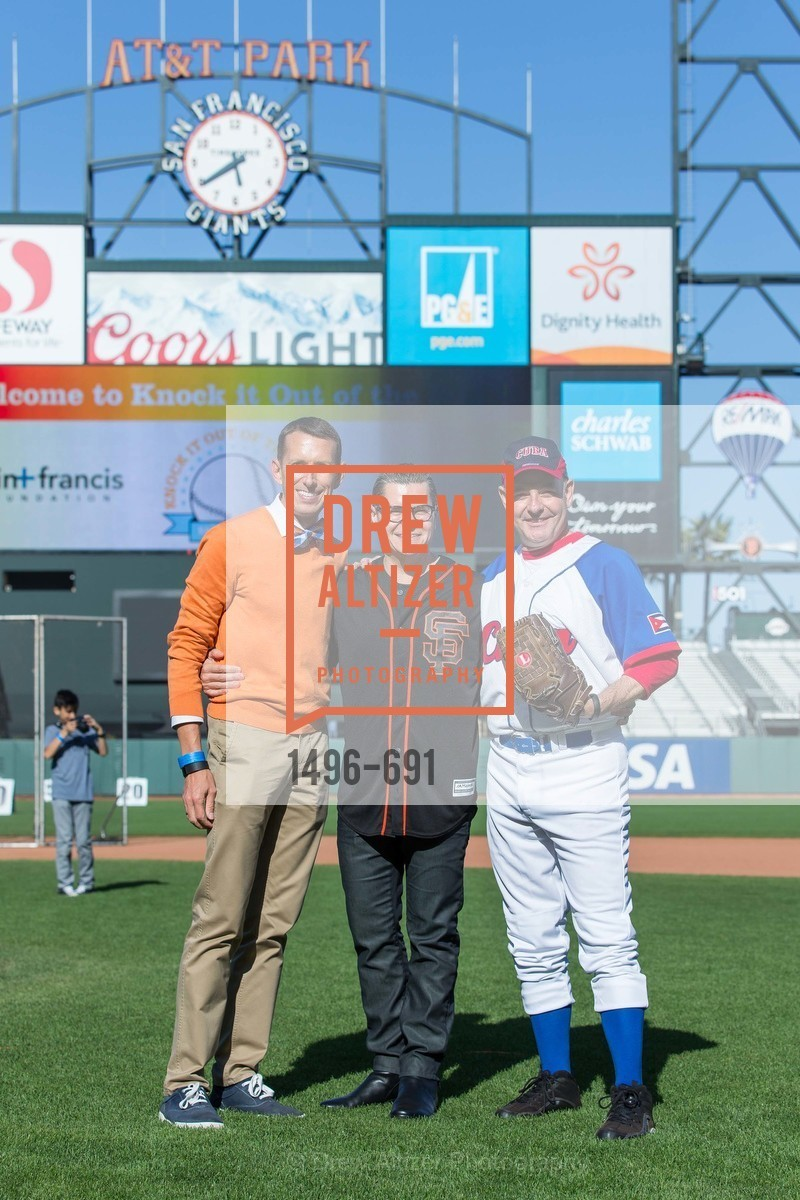 Markham Miller, Christopher Meza, Kevin Causey, ST. FRANCIS FOUNDATION'S Knock It Out of the Park, US. AT&T Park, June 4th, 2015,Drew Altizer, Drew Altizer Photography, full-service agency, private events, San Francisco photographer, photographer california