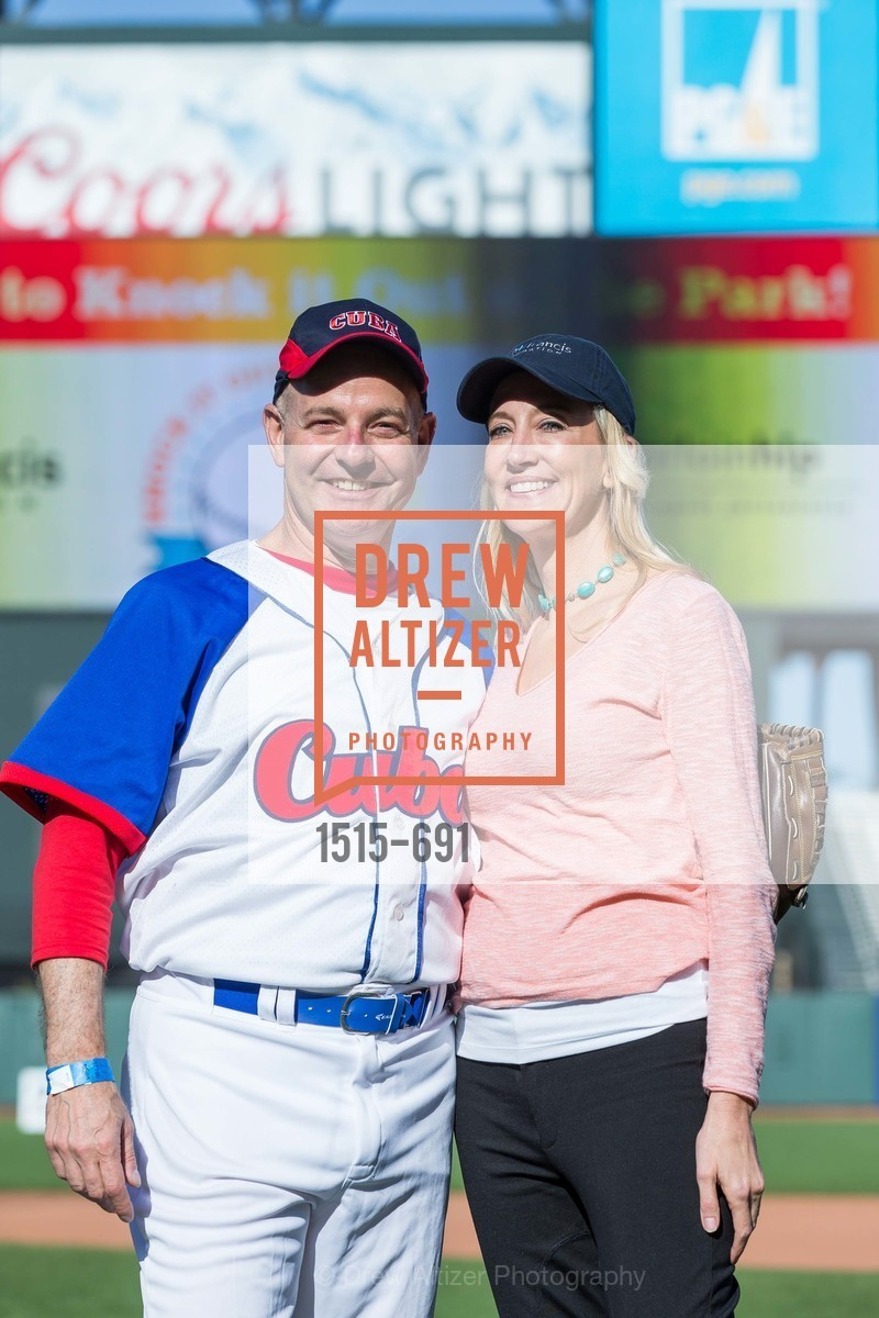 Kevin Causey, Colleen McGuinn, ST. FRANCIS FOUNDATION'S Knock It Out of the Park, US. AT&T Park, June 4th, 2015,Drew Altizer, Drew Altizer Photography, full-service agency, private events, San Francisco photographer, photographer california