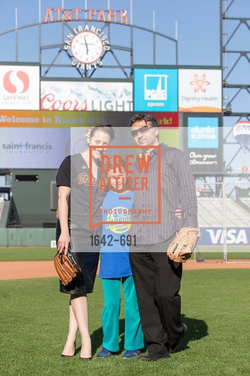 Hannah Keck, Cassat Boatwright, Hooman Khalili, ST. FRANCIS FOUNDATION'S Knock It Out of the Park, US. AT&T Park, June 4th, 2015,Drew Altizer, Drew Altizer Photography, full-service agency, private events, San Francisco photographer, photographer california