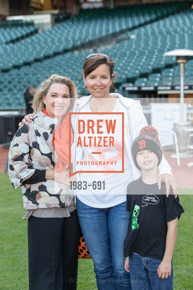 Nicole Prieto, Kate Smith, Griffin Smith, ST. FRANCIS FOUNDATION'S Knock It Out of the Park, US. AT&T Park, June 4th, 2015,Drew Altizer, Drew Altizer Photography, full-service agency, private events, San Francisco photographer, photographer california