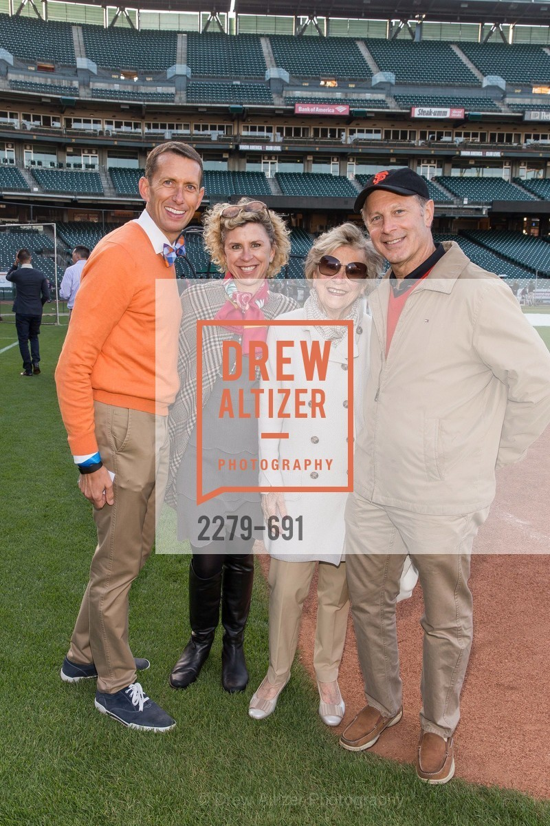 Markham Miller, Jennifer Kiss, Margaret Engel, Rich Martini, ST. FRANCIS FOUNDATION'S Knock It Out of the Park, US. AT&T Park, June 4th, 2015,Drew Altizer, Drew Altizer Photography, full-service agency, private events, San Francisco photographer, photographer california