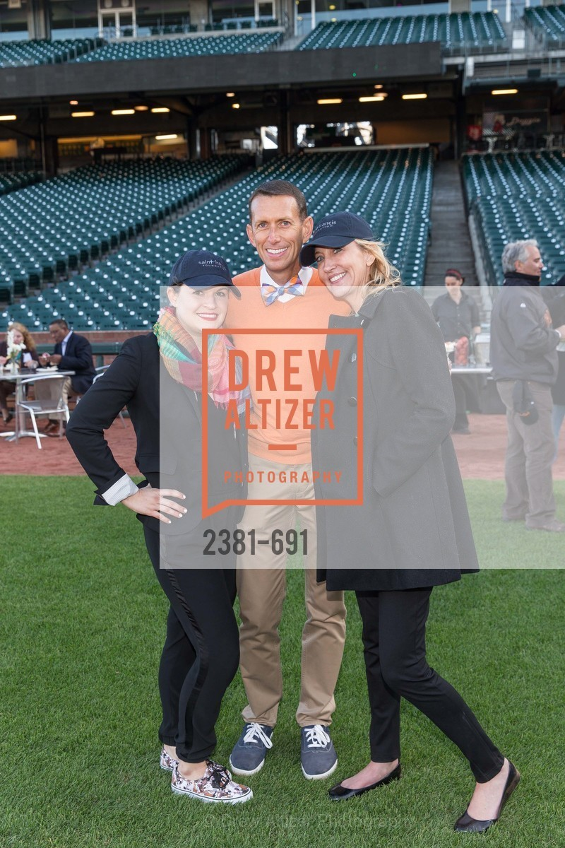 Allison Lamm, Markham Miller, Colleen McGuinn, ST. FRANCIS FOUNDATION'S Knock It Out of the Park, US. AT&T Park, June 4th, 2015,Drew Altizer, Drew Altizer Photography, full-service agency, private events, San Francisco photographer, photographer california