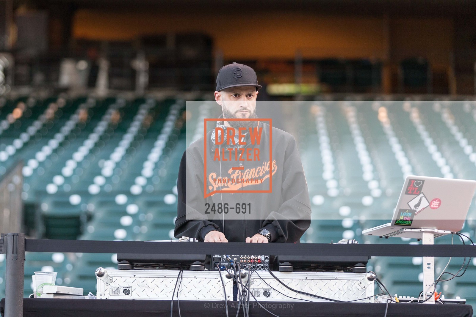 DJ Everett, ST. FRANCIS FOUNDATION'S Knock It Out of the Park, US. AT&T Park, June 4th, 2015,Drew Altizer, Drew Altizer Photography, full-service agency, private events, San Francisco photographer, photographer california
