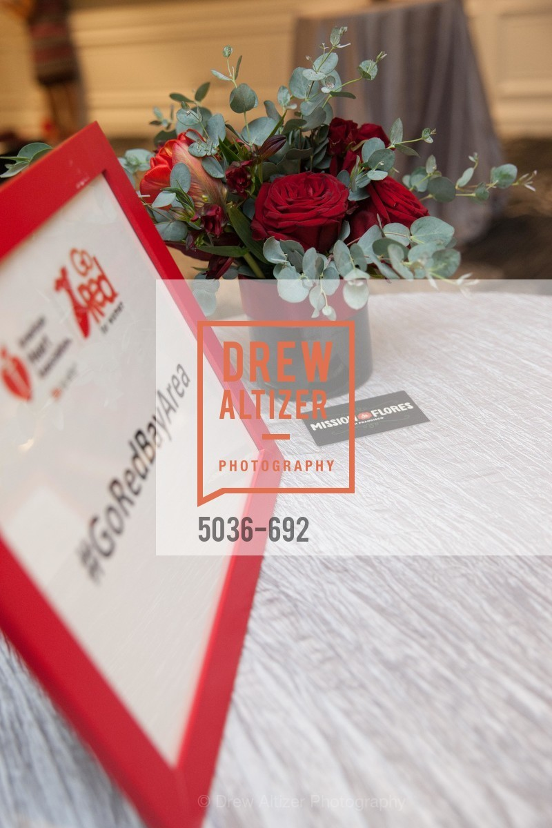 Atmosphere, 2015 GoRed for Women Luncheon, US, May 2nd, 2015