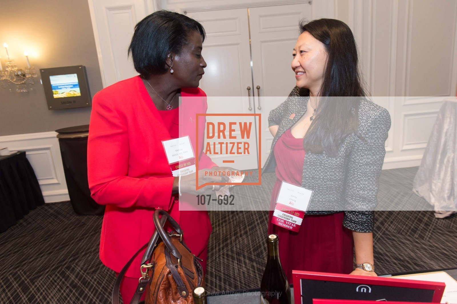 Meslisa Welch, Jenny Cheng, 2015 GoRed for Women Luncheon, US, May 2nd, 2015,Drew Altizer, Drew Altizer Photography, full-service agency, private events, San Francisco photographer, photographer california