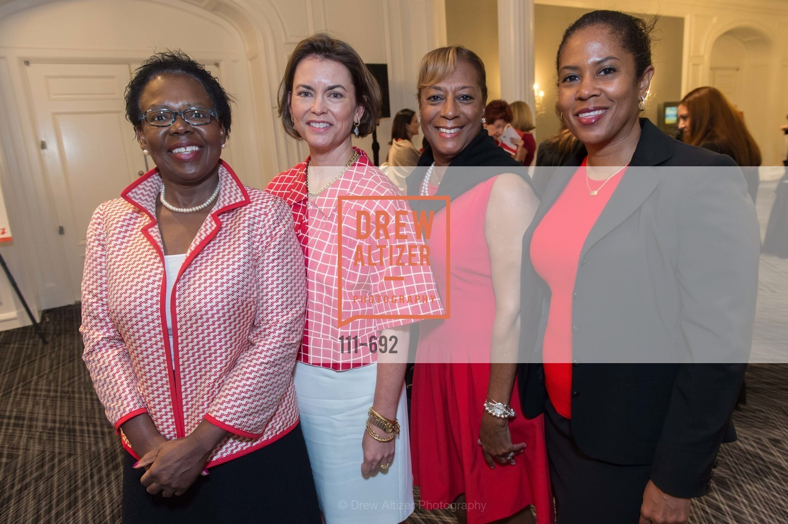 Audrey Drichi, Mary Francis, Laraine Daye, Josetta James, 2015 GoRed for Women Luncheon, US, May 2nd, 2015,Drew Altizer, Drew Altizer Photography, full-service event agency, private events, San Francisco photographer, photographer California
