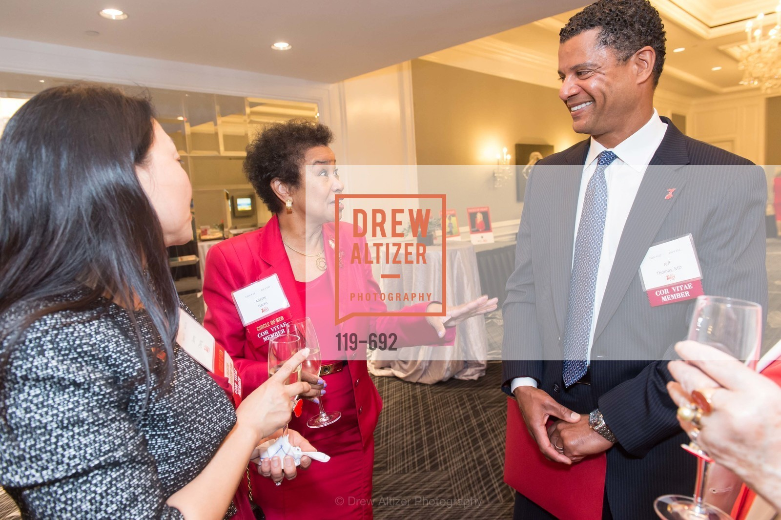Anette Harris, Jeff Thomas, 2015 GoRed for Women Luncheon, US, May 2nd, 2015,Drew Altizer, Drew Altizer Photography, full-service agency, private events, San Francisco photographer, photographer california