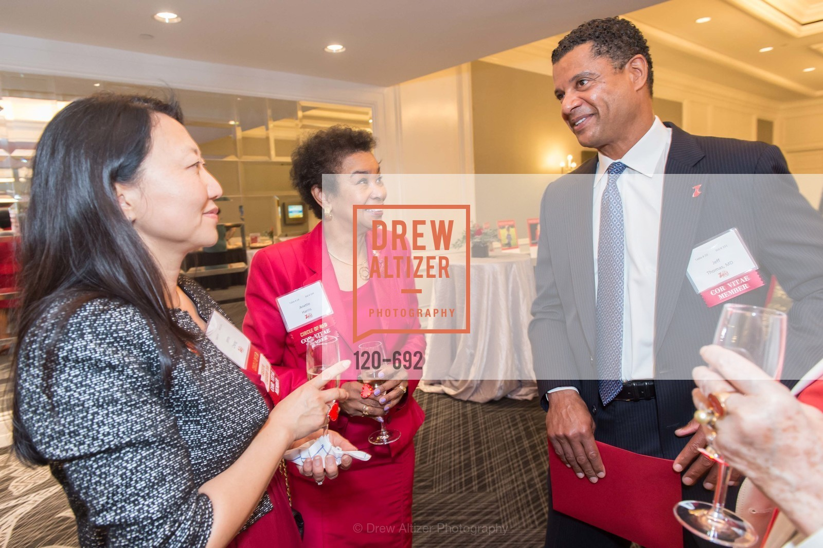 Anette Harris, Jeff Thomas, 2015 GoRed for Women Luncheon, US, May 1st, 2015,Drew Altizer, Drew Altizer Photography, full-service agency, private events, San Francisco photographer, photographer california