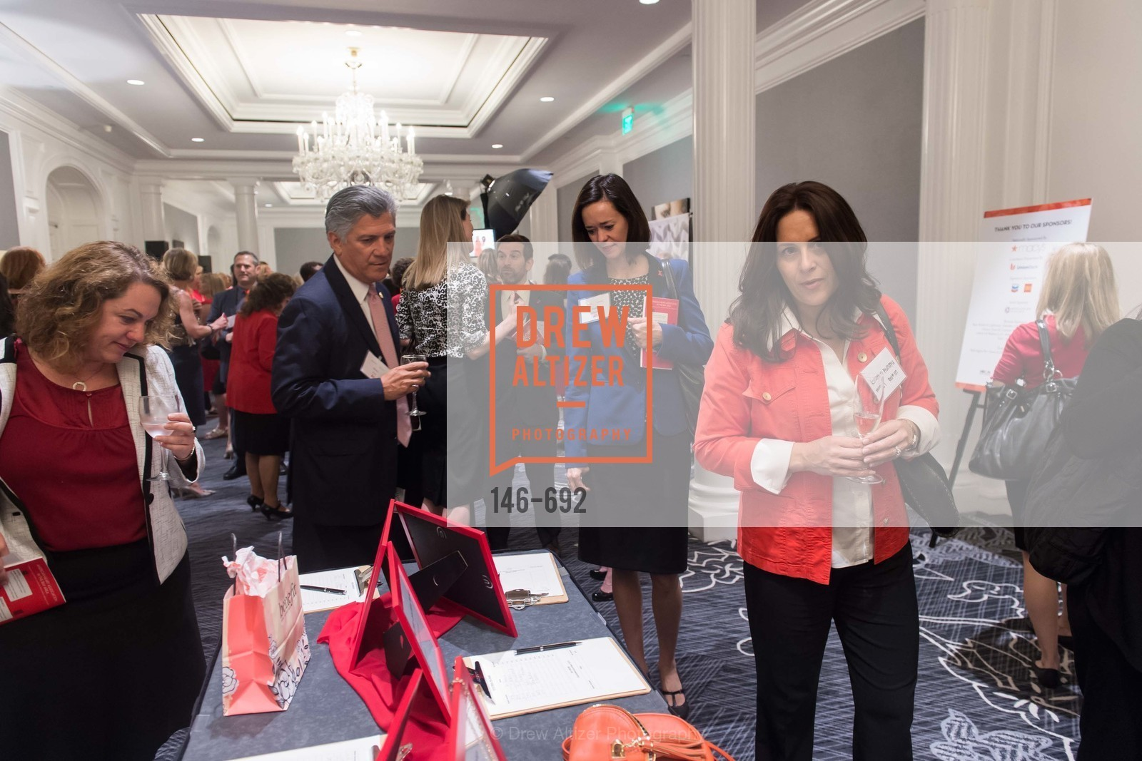 Mario Diaz, Karen Schwindt, Christine Aunate, 2015 GoRed for Women Luncheon, US, May 2nd, 2015,Drew Altizer, Drew Altizer Photography, full-service agency, private events, San Francisco photographer, photographer california