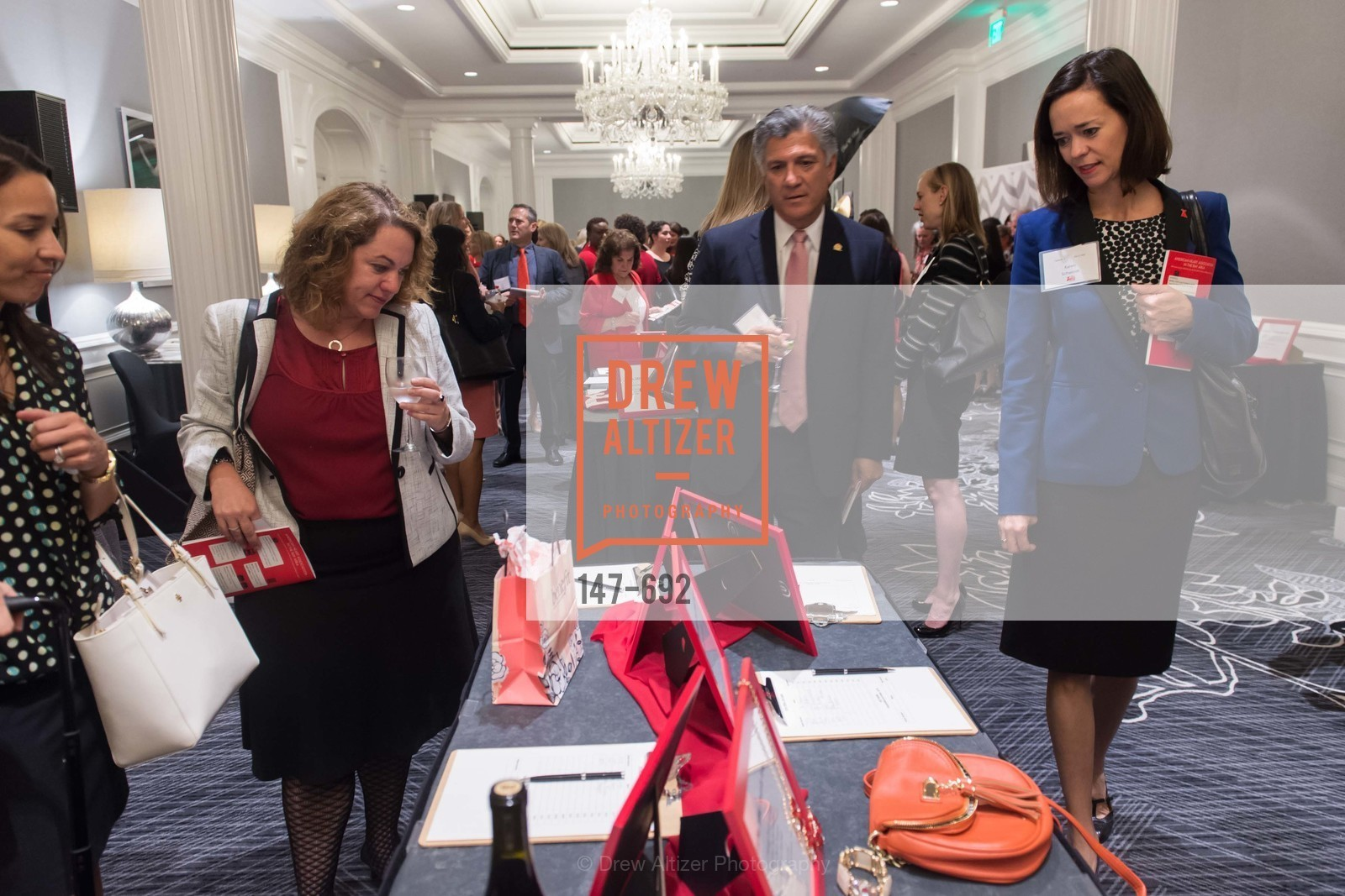 Mario Diaz, Karen Schwindt, 2015 GoRed for Women Luncheon, US, May 2nd, 2015,Drew Altizer, Drew Altizer Photography, full-service agency, private events, San Francisco photographer, photographer california
