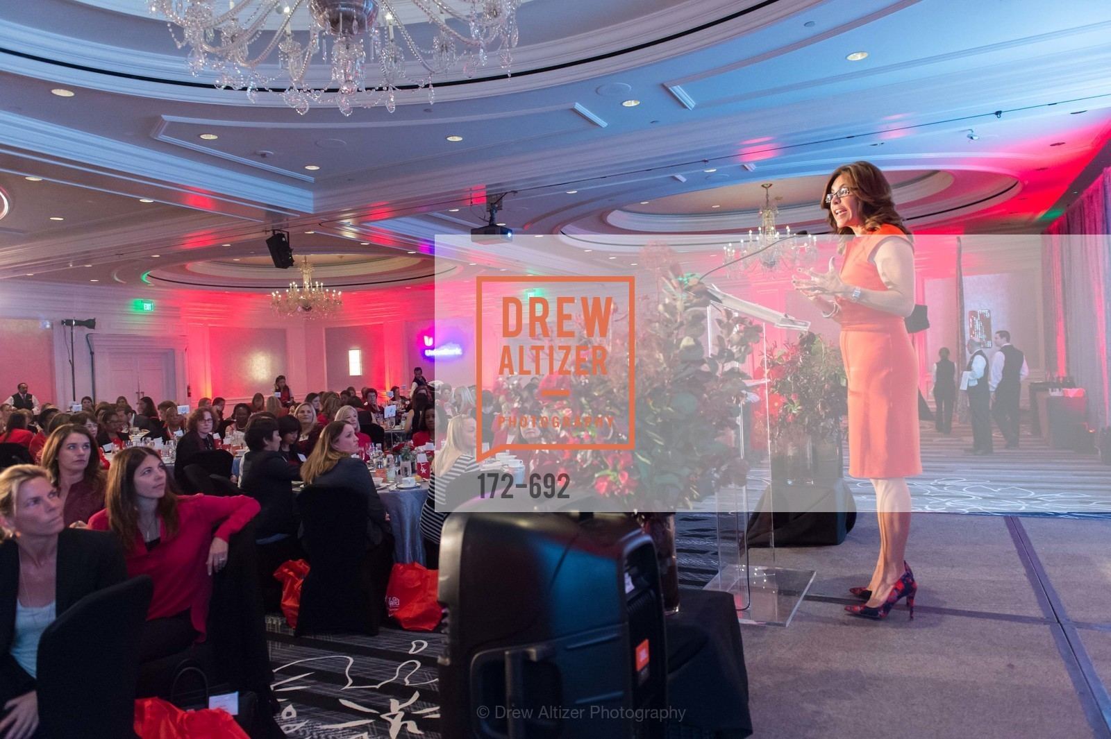 Jessica Aguirre, 2015 GoRed for Women Luncheon, US, May 1st, 2015,Drew Altizer, Drew Altizer Photography, full-service agency, private events, San Francisco photographer, photographer california