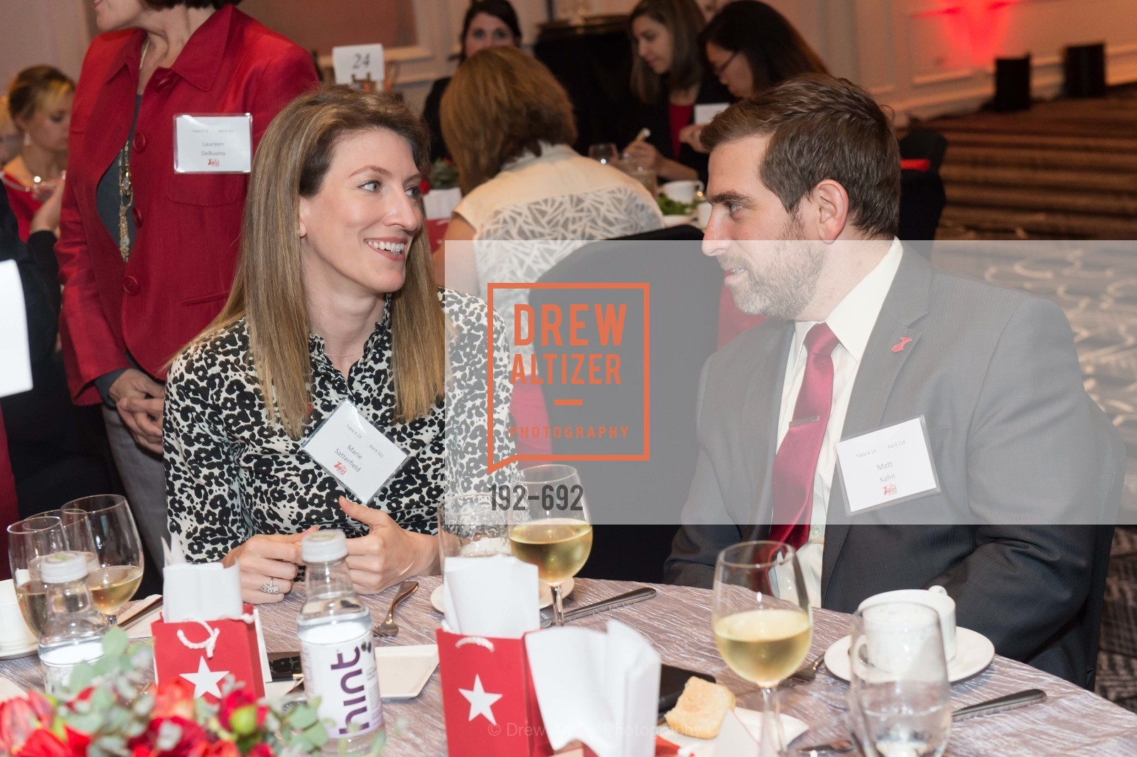 Marie Satterfield, Matt Kahn, 2015 GoRed for Women Luncheon, US, May 1st, 2015,Drew Altizer, Drew Altizer Photography, full-service agency, private events, San Francisco photographer, photographer california