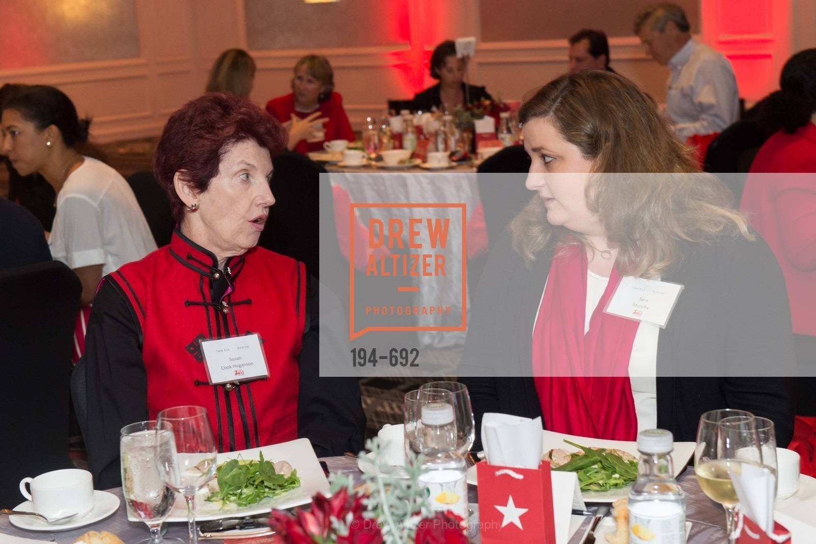 Susan Cook Hoganson, Sara Murphy, 2015 GoRed for Women Luncheon, US, May 2nd, 2015,Drew Altizer, Drew Altizer Photography, full-service agency, private events, San Francisco photographer, photographer california