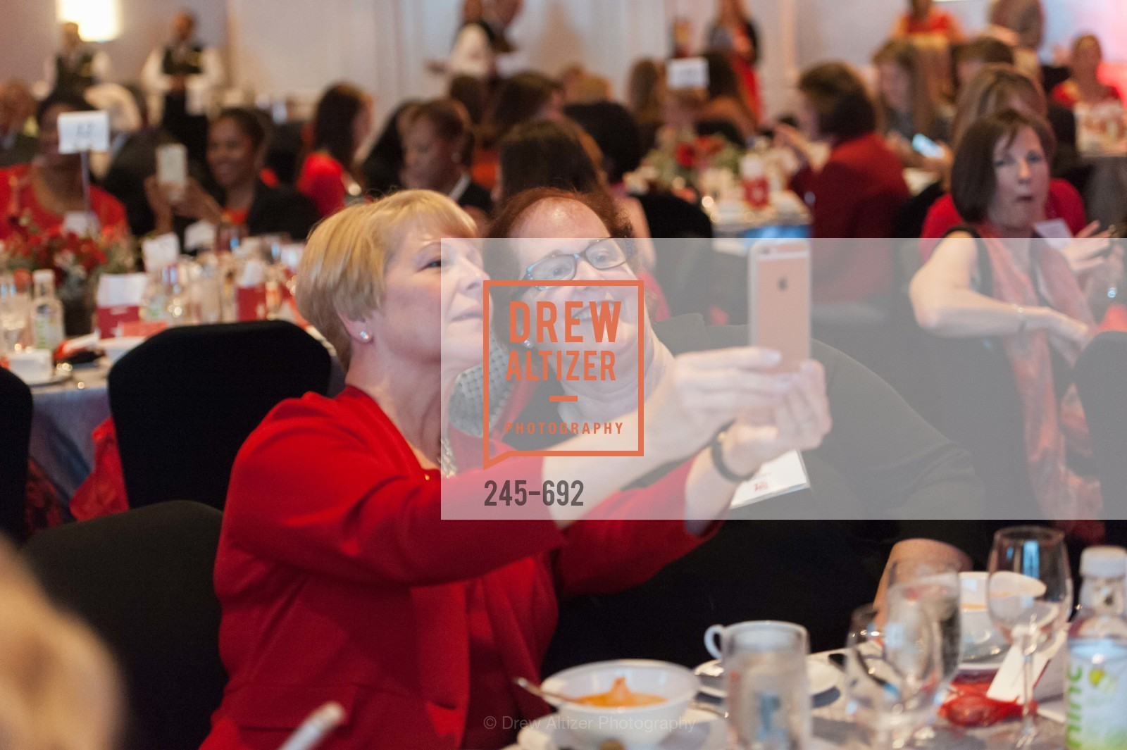 Janet Egler, Jan Woolsey, 2015 GoRed for Women Luncheon, US, May 2nd, 2015,Drew Altizer, Drew Altizer Photography, full-service agency, private events, San Francisco photographer, photographer california