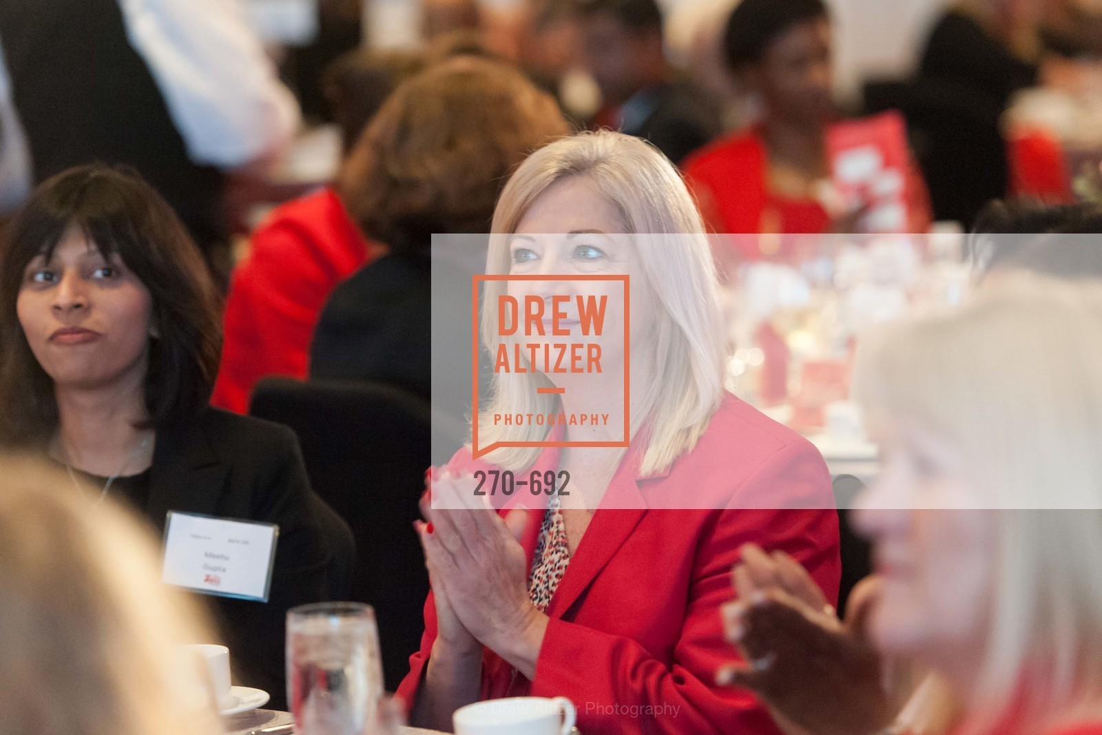 Linda Patrick, 2015 GoRed for Women Luncheon, US, May 1st, 2015,Drew Altizer, Drew Altizer Photography, full-service agency, private events, San Francisco photographer, photographer california