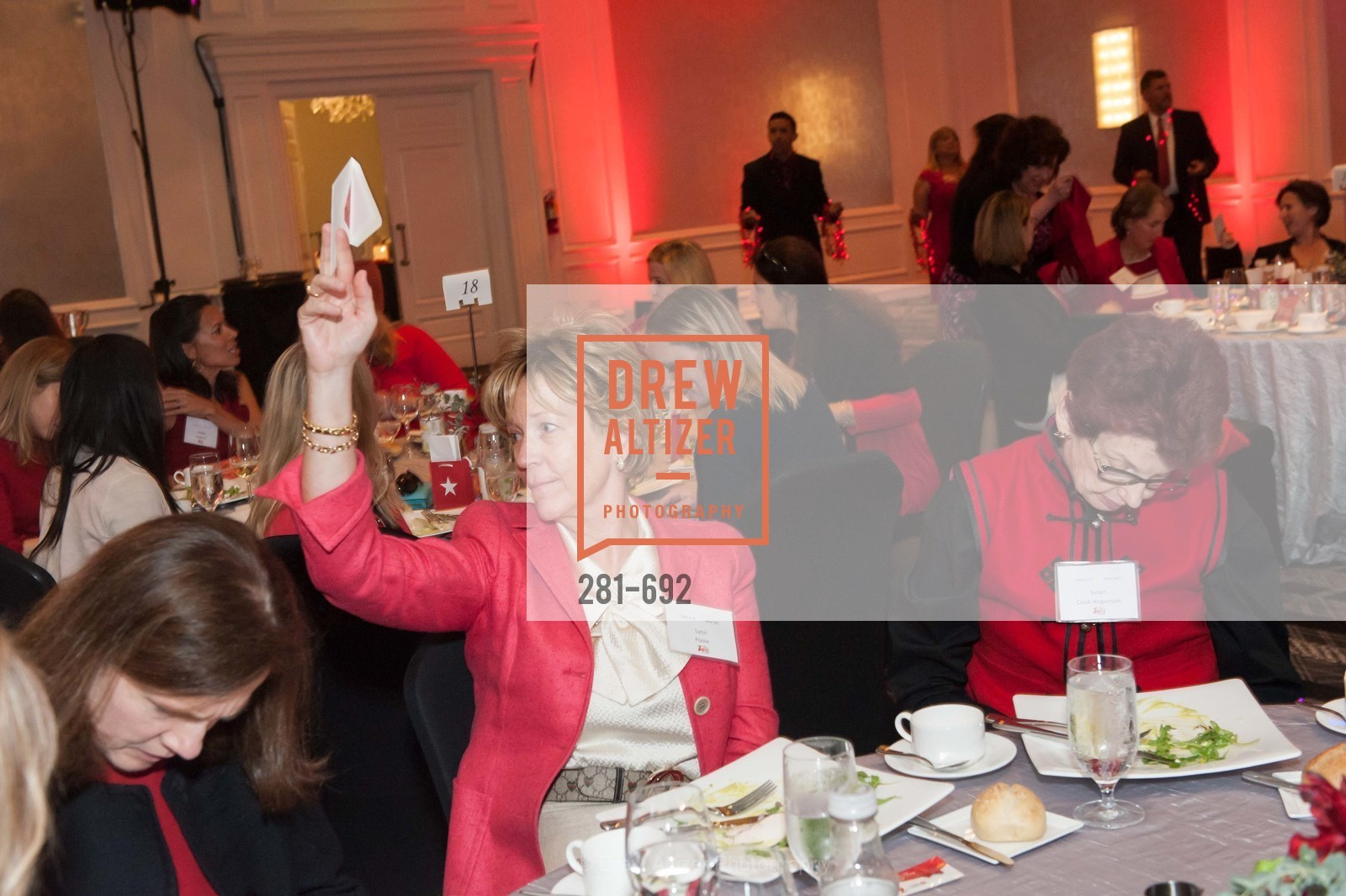 Lynn Poole, Susan Cook Hoganson, 2015 GoRed for Women Luncheon, US, May 1st, 2015,Drew Altizer, Drew Altizer Photography, full-service agency, private events, San Francisco photographer, photographer california