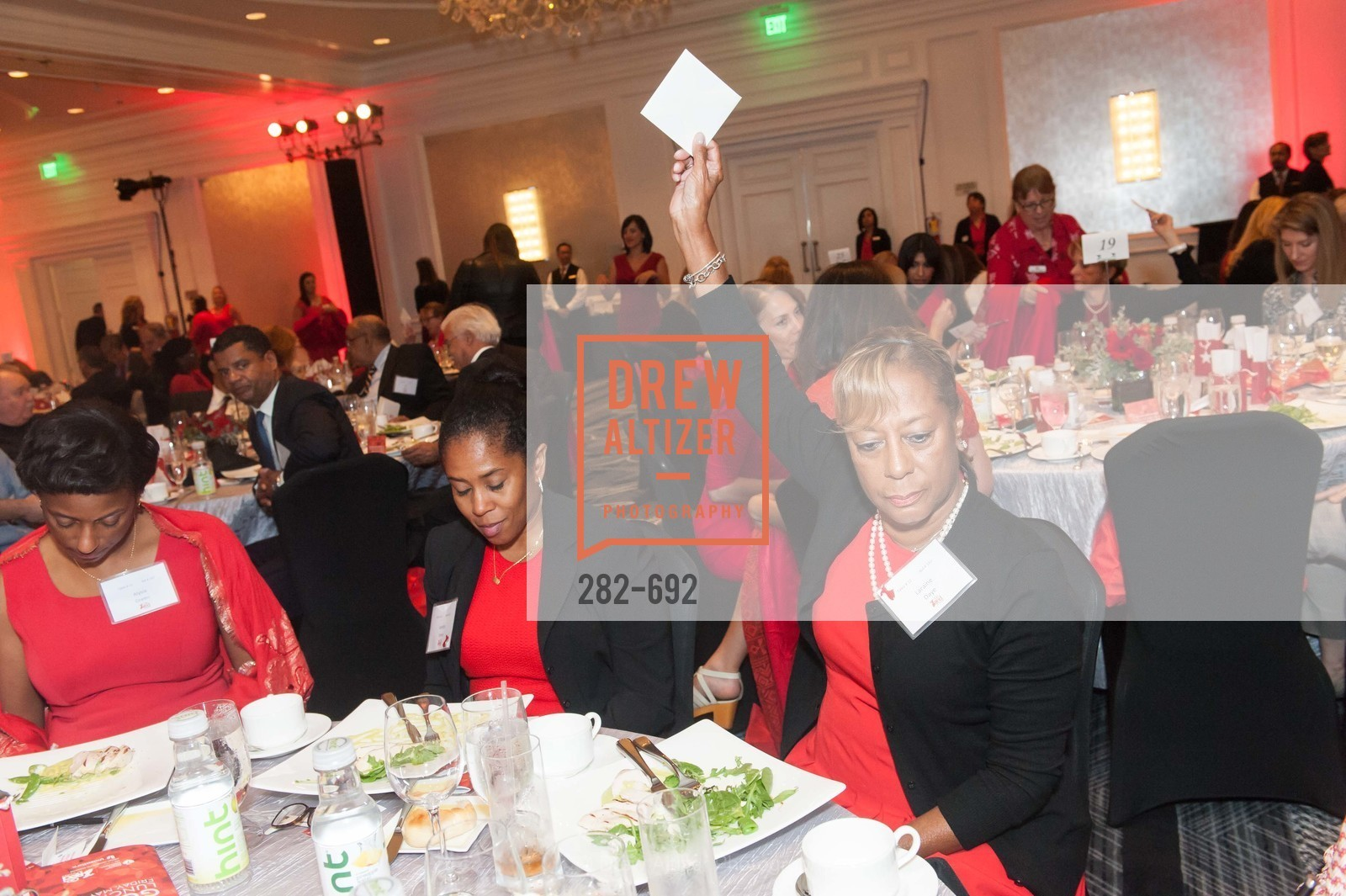 Alysia Green, Josetta James, Laraine Daye, 2015 GoRed for Women Luncheon, US, May 2nd, 2015,Drew Altizer, Drew Altizer Photography, full-service event agency, private events, San Francisco photographer, photographer California