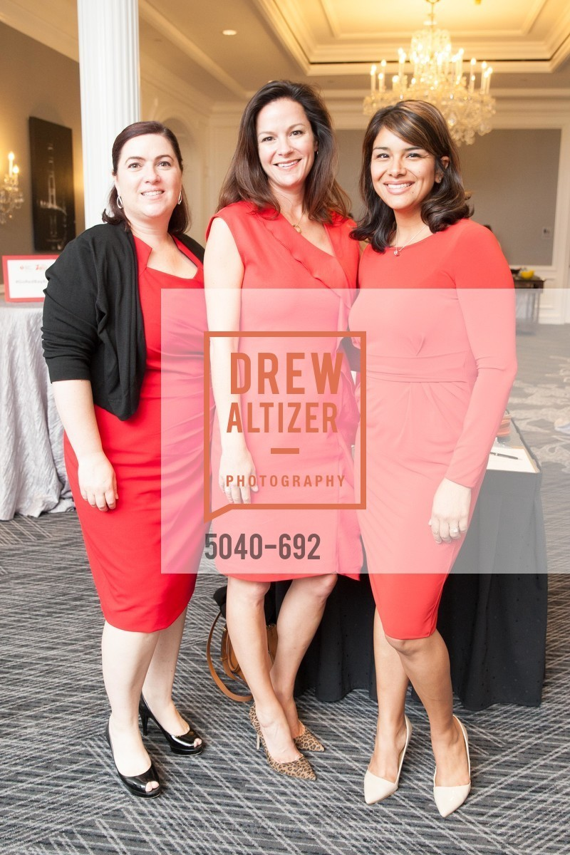 Catherine Asarian, Jill Hagenkord, Evonne Morantes, 2015 GoRed for Women Luncheon, US, May 2nd, 2015,Drew Altizer, Drew Altizer Photography, full-service agency, private events, San Francisco photographer, photographer california