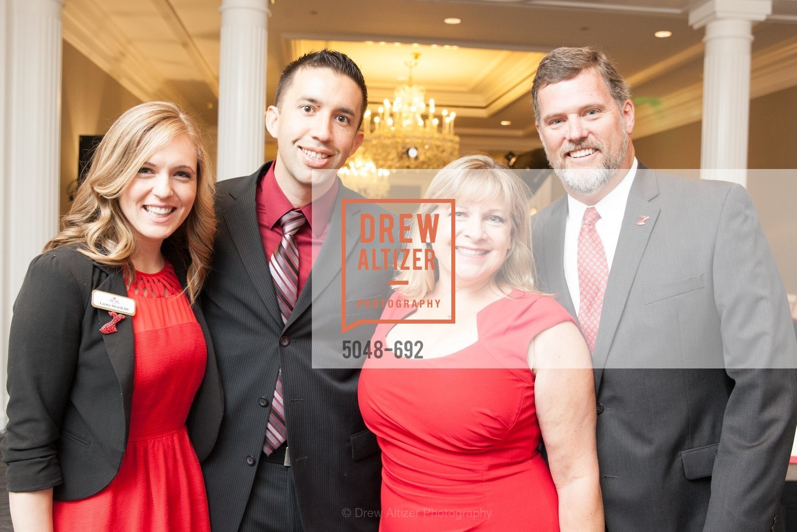 Laura Steinfeldt, Joshua Keisel, Nancy Tinner, Trey Tinner, 2015 GoRed for Women Luncheon, US, May 2nd, 2015,Drew Altizer, Drew Altizer Photography, full-service agency, private events, San Francisco photographer, photographer california