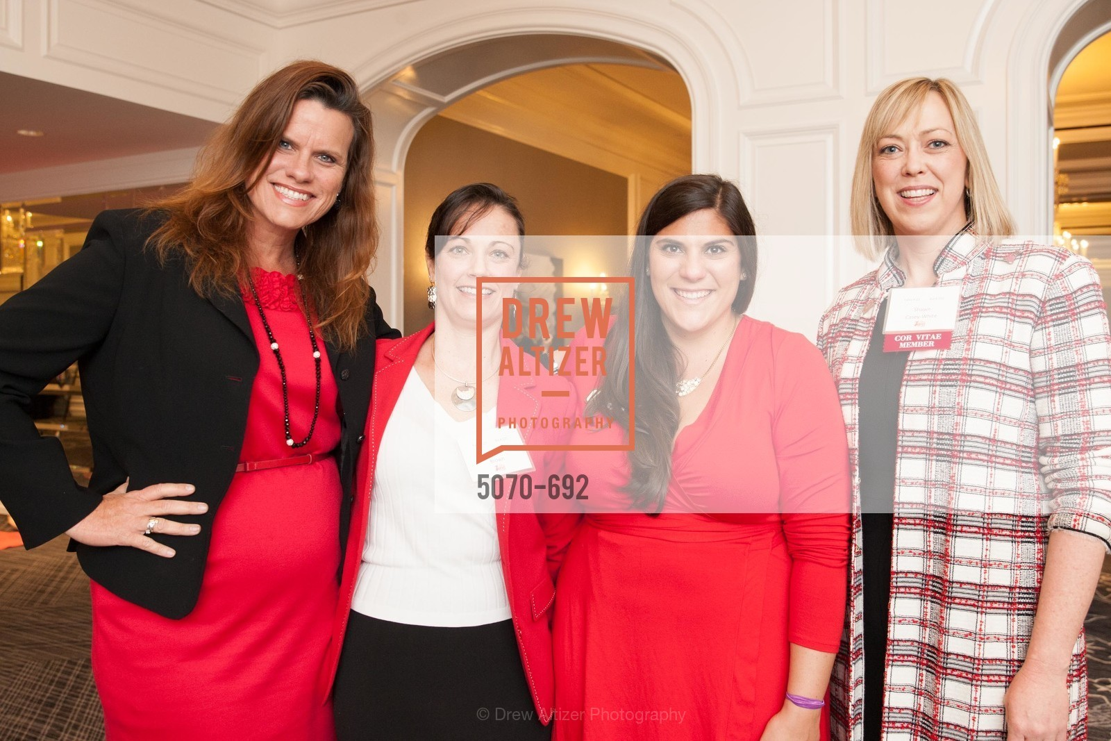 Agnes McGlone, Tiffany Brown, Gianna Pascale, Shawn Casey-White, 2015 GoRed for Women Luncheon, US, May 1st, 2015,Drew Altizer, Drew Altizer Photography, full-service agency, private events, San Francisco photographer, photographer california