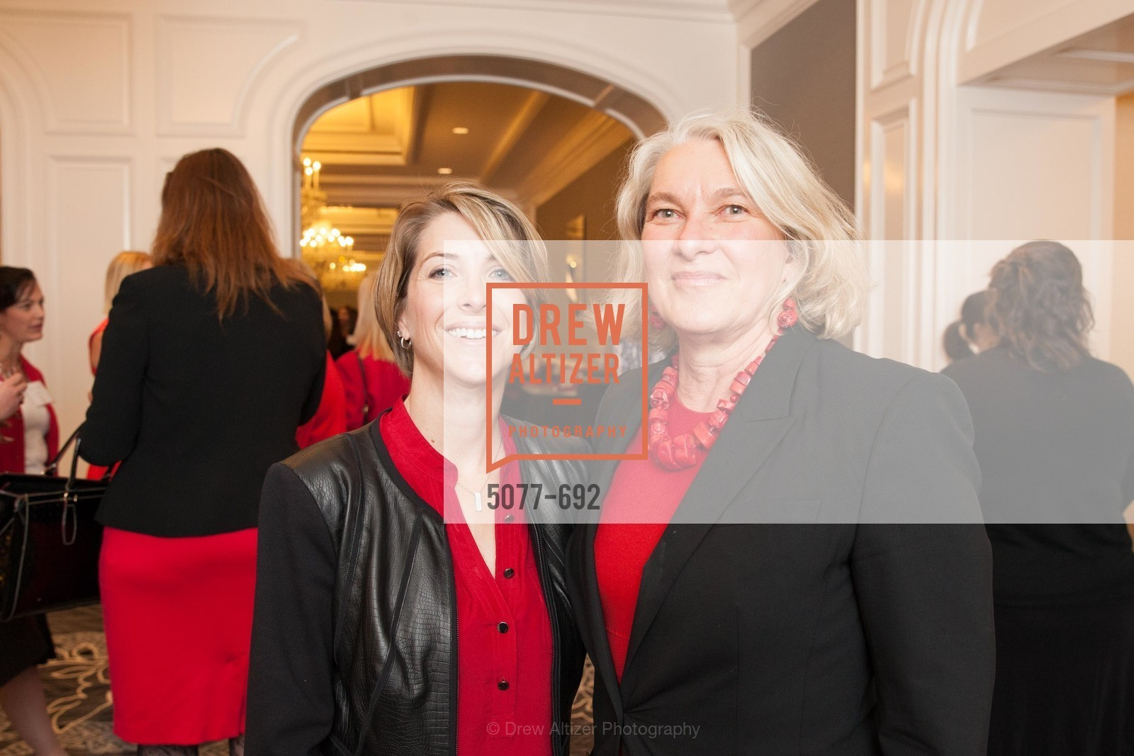 Shannon O'Shea, Susan Maerki, 2015 GoRed for Women Luncheon, US, May 1st, 2015,Drew Altizer, Drew Altizer Photography, full-service agency, private events, San Francisco photographer, photographer california